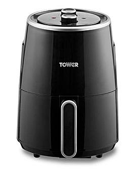 Tower T17066 1.8Litre 1300W Compact Black Air Fryer