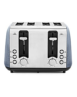 Tower Ice Diamond 4 Slice Toaster