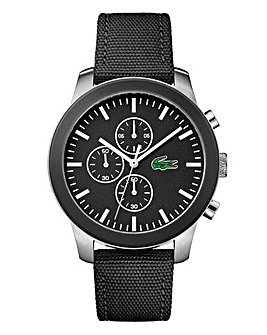 Lacoste Mens Nylon Strap Watch