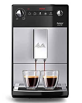 Melitta Purista Bean to Cup Silver Coffee Machine