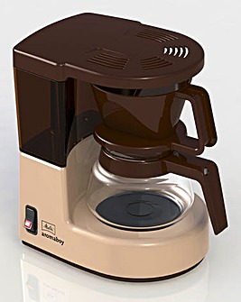 Melitta AromaBoy Compact Cream Filter Coffee Machine