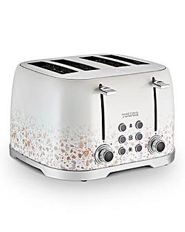 Tower Terrazzo 4 Slice Toaster