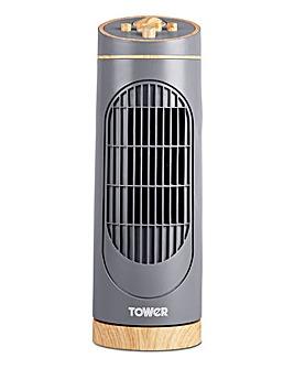 Tower Scandi 14 Grey Tower Fan