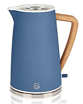 Swan SK14610BLUN 1.7Litre Nordic Style Blue Kettle