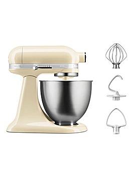 KitchenAid 3.3Litre Mini Almond Cream Stand Mixer