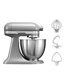 KitchenAid 3.3Litre Mini Matte Grey Stand Mixer