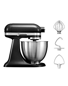 KitchenAid 3.3Litre Mini Matte Black Stand Mixer