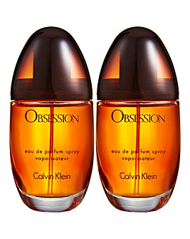 Calvin Klein Obsession 30ml Eau de Parfum Buy One Get One FREE