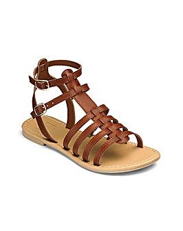 e490663d1e32 Sole Diva Eden Gladiator Sandals E Fit