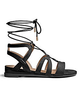 Maisy Ghillie Tie Wedge E Fit