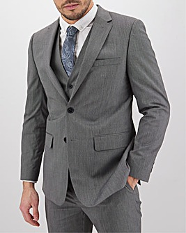 Charcoal Hank Tonic Suit Jacket Long