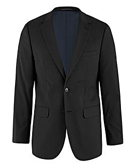 Black Regular Fit Hank Tonic Suit Jacket
