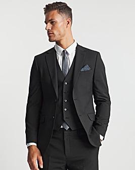 Black Hank Tonic Suit Jacket Long