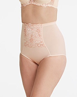 Ella Lace Firm Control Blush Briefs