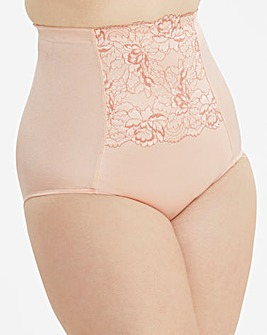 67e17f7b70 Ella Lace Firm Control Blush Briefs