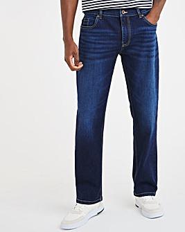 Indigo Wash Loose Fit Jeans