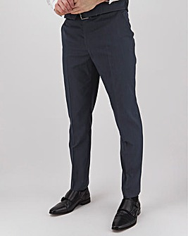 Navy Hank Regular Fit Tonic Suit Trousers