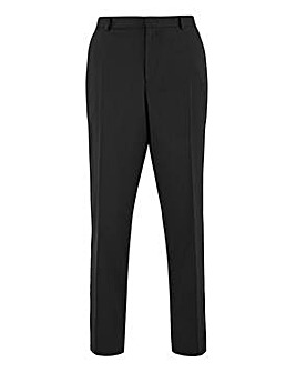 Black Regular Fit Hank Tonic Suit Trousers