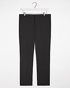 Black Regular Hank Tonic Suit Trousers
