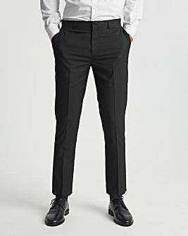 Black Regular Fit Hank Tonic Suit Trousers