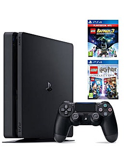 PS4 500GB Console inc 2 Lego Games