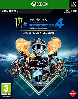 Monster Energy Supercross 4 Series X