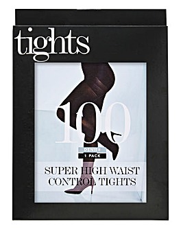 Magisculpt 100 Denier Blk Control Tights