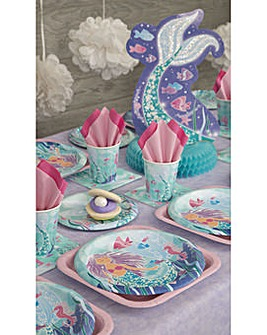 Mermaid Party Pack For 16
