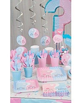 Gender Reveal Baby Shower Pack
