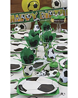 3D Football Party Pack For 16