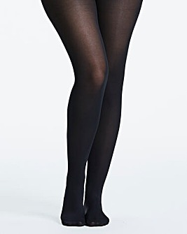 2 Pack Black 100 Denier Airflow Tights
