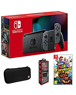 Switch Grey Inc Super Mario 3D World