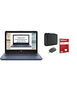 HP 11in Laptop Office 365 Bundle