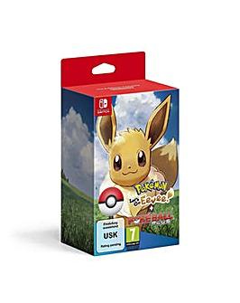 Pokemon Lets Go Eevee Inc Poke Ball