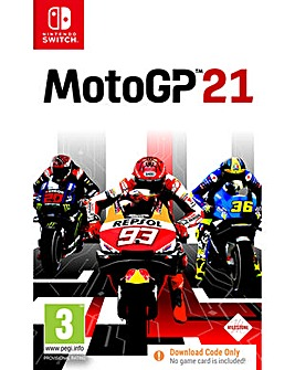MotoGP 21 Code in a Box Switch