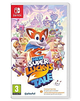 New Super Luckys Tale Code in Box Switch