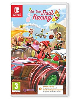 All Star Fruit Racing Code in Box Switch