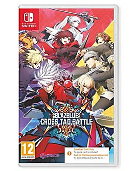 Blazblue Cross Tag Battle Code in a Box