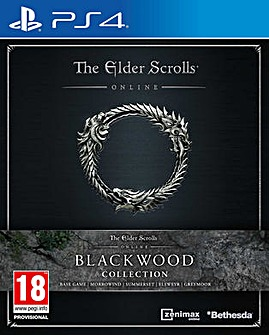The Elder Scrolls Online Blackwood PS4