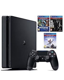 PS4 500GB inc 3 Games