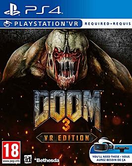 DOOM 3 VR Edition PS4
