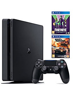 PS4 500GB Console Inc 2 Games