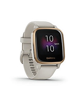 Garmin Venu Sq Music Edition Smart Watch Sand /R Gold Bezel