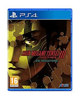Shin Megami Tensei III Nocturne HD PS4