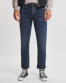 Premium Dark Wash Straight Fit Jean