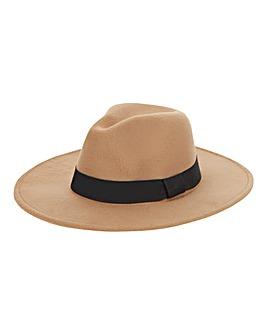 Light Tan Classic Fedora Hat