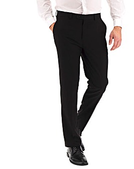 Black Regular Travel Suit Trousers
