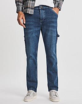 Premium Indigo Wash Carpenter Jean