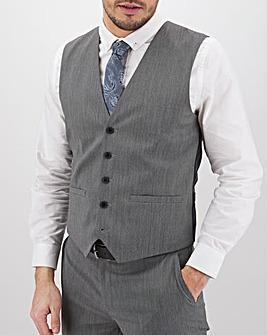 Charcoal Hank Regular Fit Tonic Waistcoat