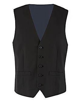 Black Regular Fit Hank Tonic Waistcoat